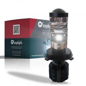 Singolo Headlight H4 con Lenticolare in Testa