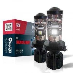 Kit Led Headlight H4 with Lens (2PCS)
