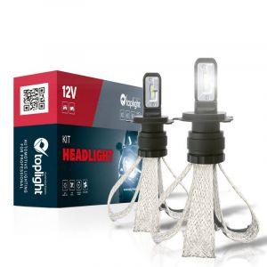 Kit Headlight BLACK STAR S per H4 (2PCS)