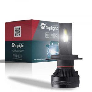 Singolo Headlight NIGHT RIDER per H4