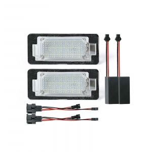 Led Licence Plate Light Audi, Seat, Skoda and WV (2PCS)