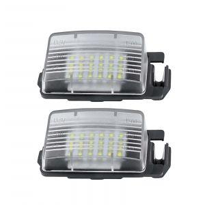 Led Licence Plate Light Nissan (2PCS)