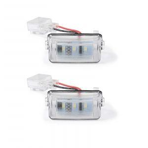 Led Licence Plate Light Citroen and Peugeot (2PCS)