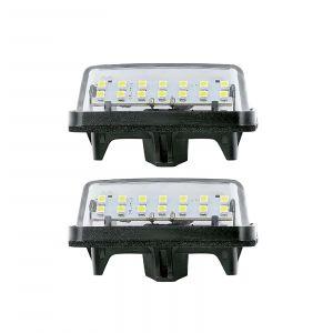 Led Licence Plate Light Toyota (2PCS)