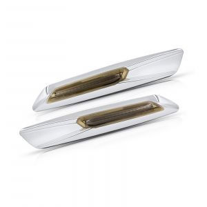 BMW Led Side Marker chrome with smoked lens (2PCS)