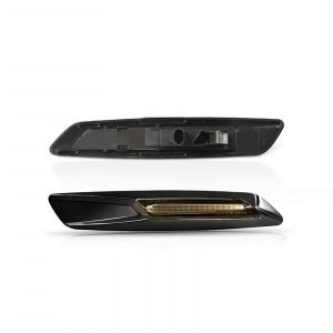 BMW Led Side Marker black with smoked lens (2PCS)