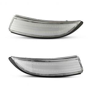 Frecce specchio progressive chiare per Ford Fiesta MK6 (2PCS)