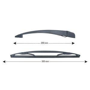 Sparblade Rear Arm Kit CITROEN/PEUGEOT/TOYOTA 305mm (1PCS)